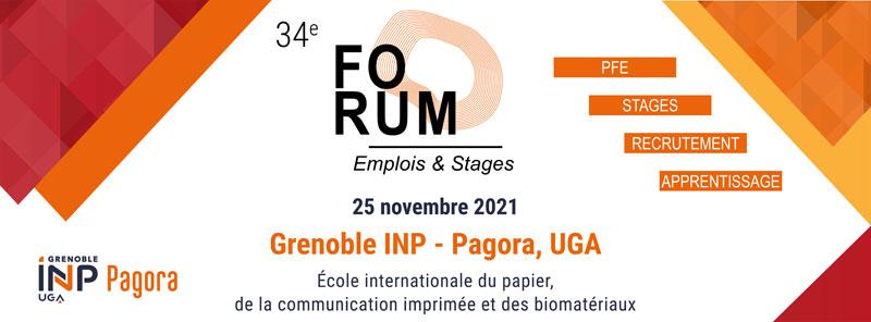 Forum Grenoble INP-Pagora - 25 novembre 2021