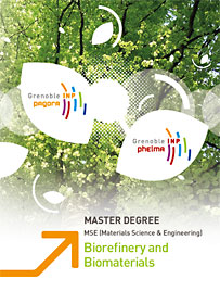 Master Degree Biorefinery and Biomaterials