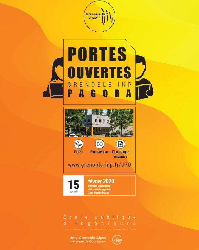 Journées Portes Ouvertes Grenoble INP-Pagora
