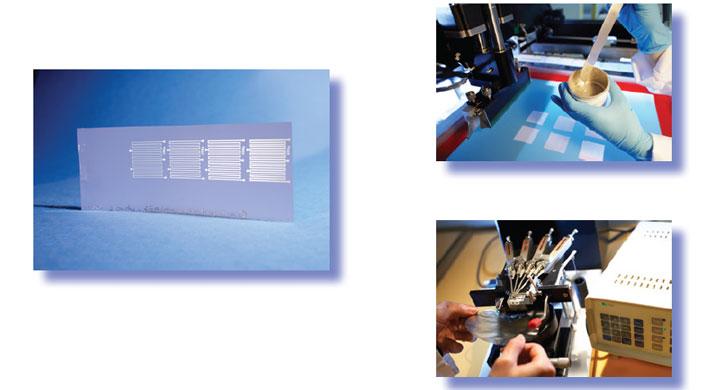 Électronique imprimée