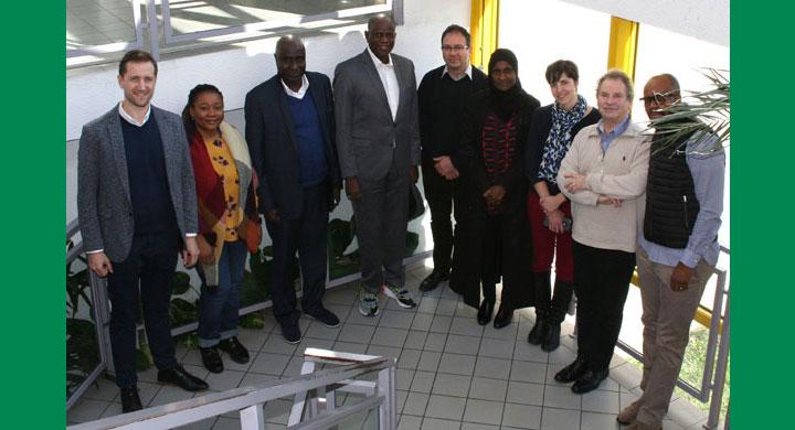 Visite d'une délégation nigériane à Grenoble INP-Pagora